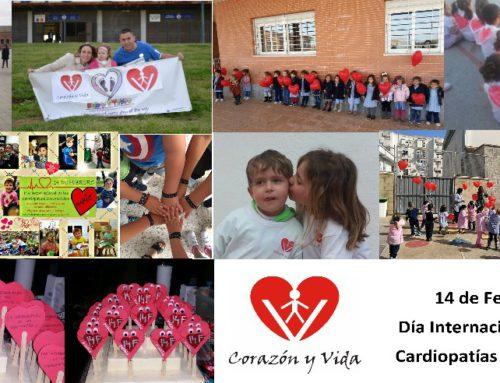 14 de Febrero. Dia Internacional de las Cardiopatías Congénitas