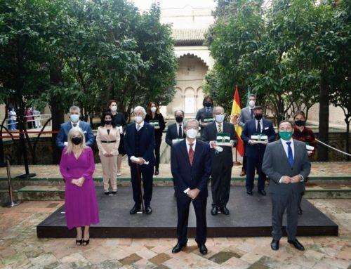 Entrega de las Banderas de Andalucía de la provincia de Sevilla 2021