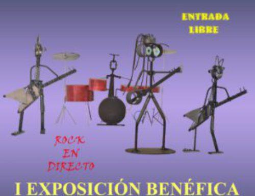 Exposición solidaria y venta de trabajos en Montequinto