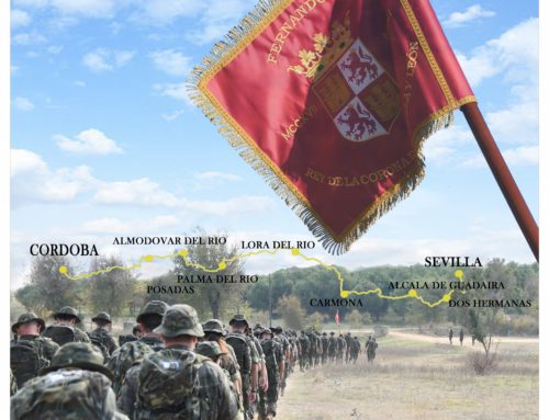 """Ha sido un honor estar presente en el """"Camino"""" del Batallón de Ingenieros III/22"""