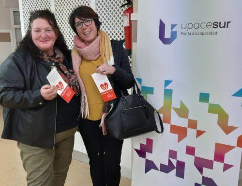 Upacesur cede sus instalaciones a Corazón y Vida para sus grupos de trabajo en Jerez