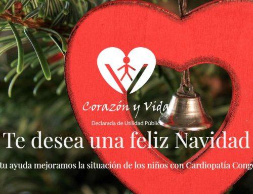 Corazón y Vida os desea unas Felices Fiestas y un año 2020 cargado de Salud