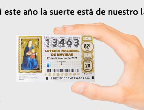 Ya puedes comprar la Lotería de Navidad 2021 de la Asociación Corazón y Vida