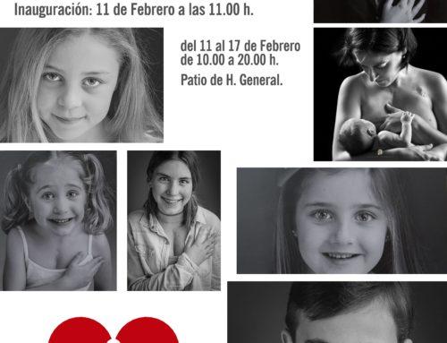 Exposición #InsigniasDeCorazón en el H.U. Virgen del Rocío