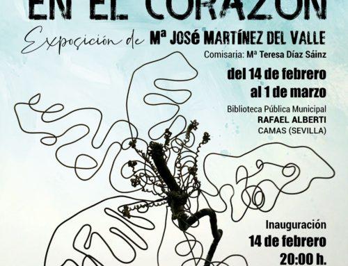 """Exposición """"Flores en el Corazón"""" en Camas"""